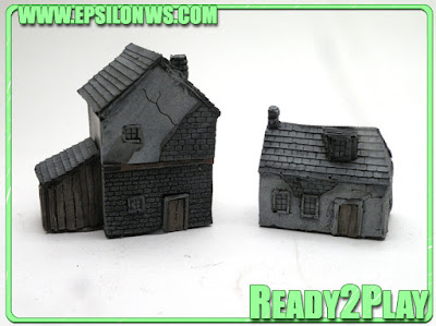 New 10mm Normandy Houses by Escenografia Epsilon