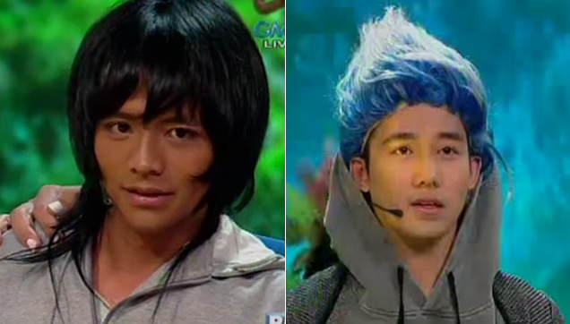 Carrot Man (Jeyrick Sigmaton) turned into Carma (Ken Chan) by Punita (Ai Ai delas Alas).