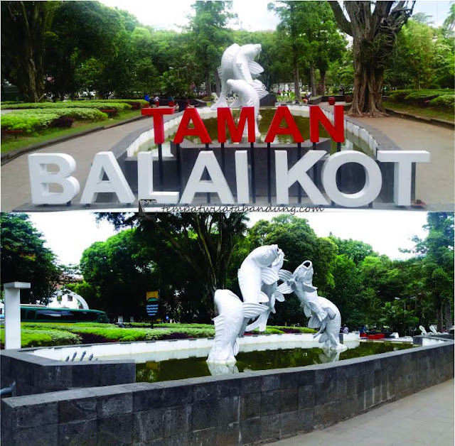 Taman Balai Kota, Wisata Labirin Di Tengah Kota Bandung