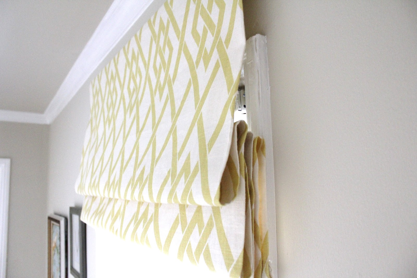 Diy Roman Shades Easy Cup Half Full Diy Roman Shade