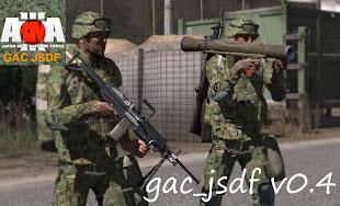 arma3 自衛隊 MOD MINIMI と M2 カール グスタフ