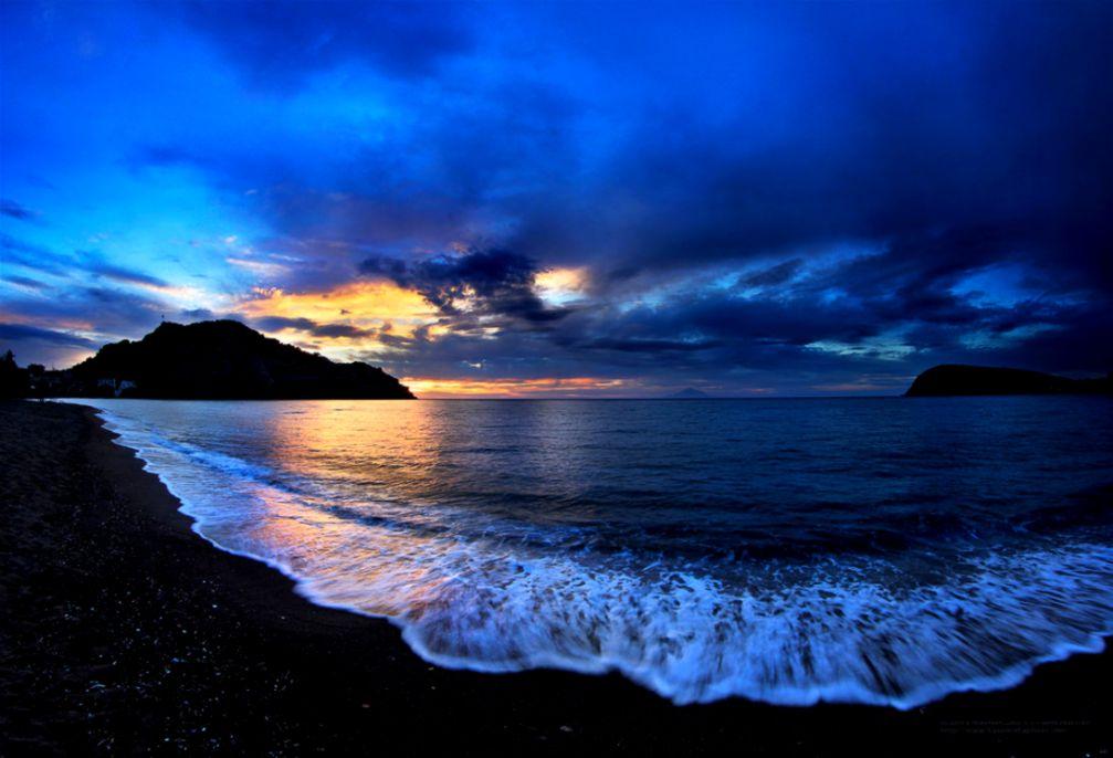 Greece Beach Wallpaper: Greece Sunset Wallpaper