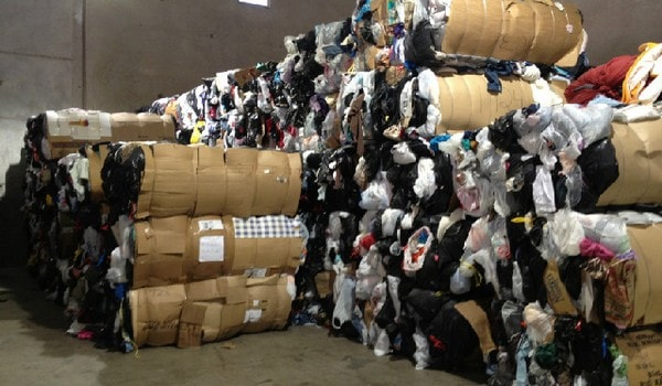 Textile and clothing waste or wastage
