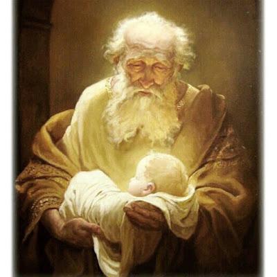 Simeão apresenta Jesus
