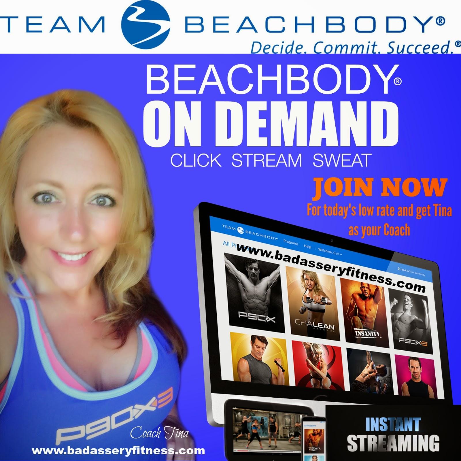 Badassery Fitness Beachbody On Demand