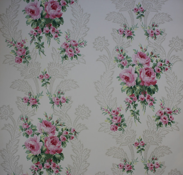 Rosie's Vintage Wallpaper: Vintage Rose Wallpaper--Etsy