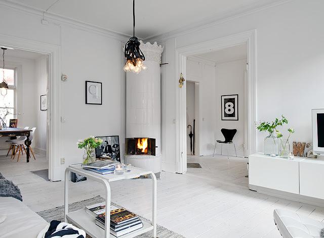 outstanding scandinavian home interior design   my scandinavian home: Swedish sitting room inspiration