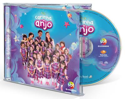 CD de Carinha de Anjo - Divulgação