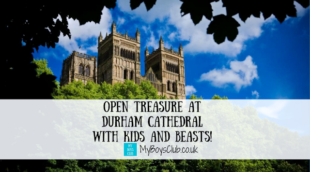 Open Treasure at Durham Cathedral with Kids and Beasts!