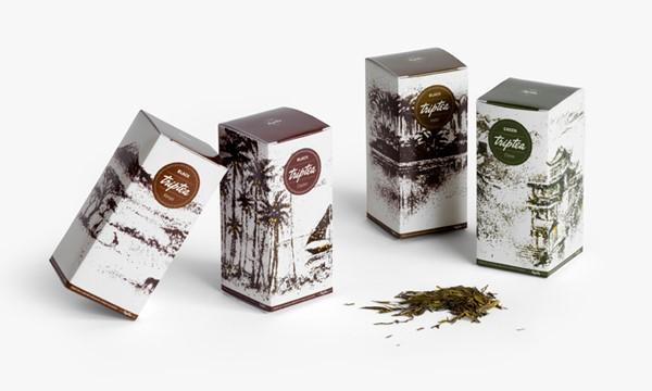 Thiết kế bao bì sản phẩm đẹp Tea