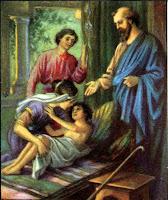 5. Elisha Raises the Shunammite Woman's Son