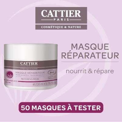 Test Produit 50 Masques Nourrit et répare de Cattier à tester !