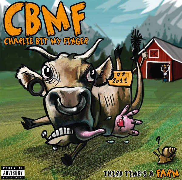 "Charlie Bit My Finger stream new album ""Third Time's A Farm"""
