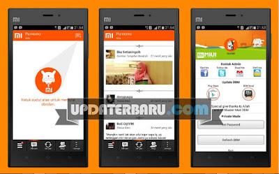 download 6 Aplikasi BBM Mod Tema MIUI apk