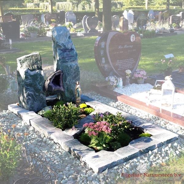 grafsteen amethist, ruwe grafsteen, grafsteen zuilen