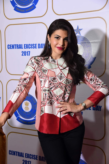 Jacqueline Fernandez Looks Super Hot At The Annual Central Excise Day Celebration in Mumbai