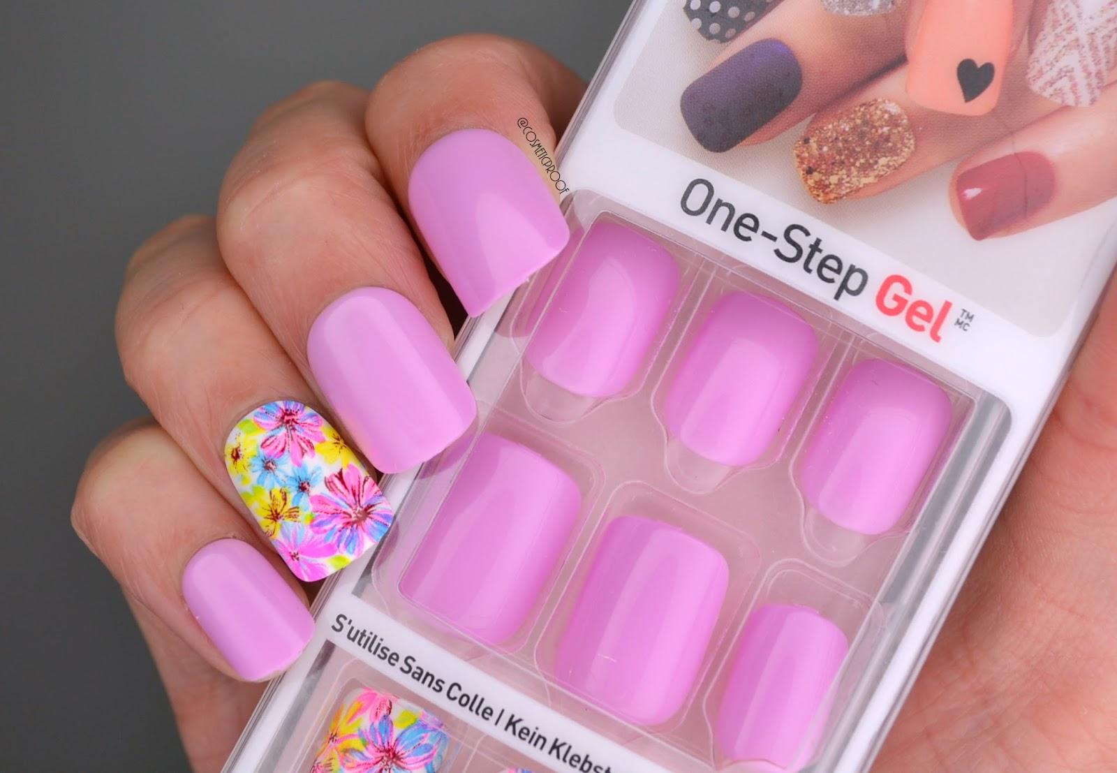 NAILS | imPRESS One Step Gel Press On Manicure | Cosmetic ...