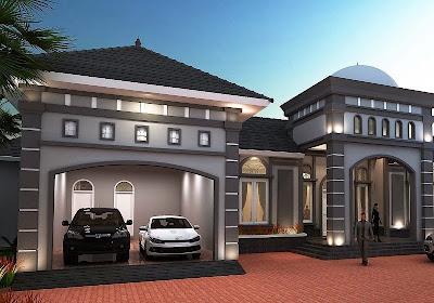 Desain Rumah Mewah Ala Meditrania