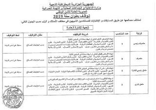 اعلان مسابقة توظيف بالمديرية العامة للأمن الوطني 73 منصب