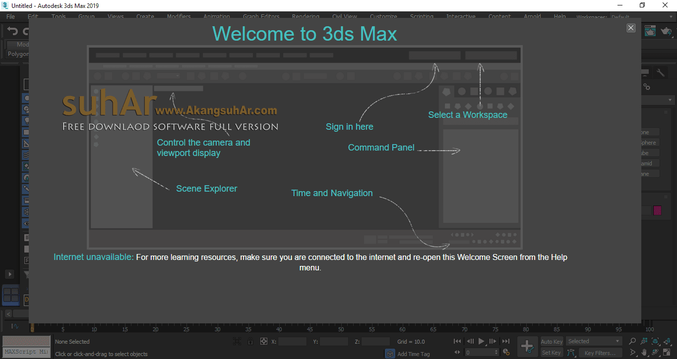 Free Download Autodesk 3DS Max 2019 Final Full Version, Autodesk 3DS Max Registration Code