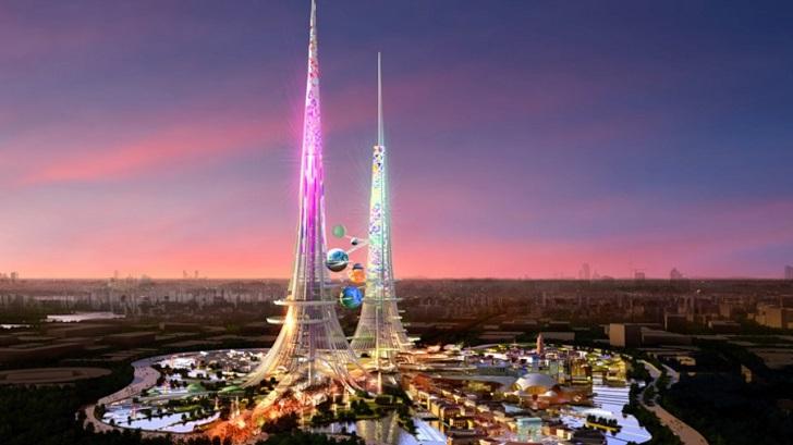 Firma Arkitek British Rancang Bina Menara Tertinggi Di Dunia Di Wuhan China