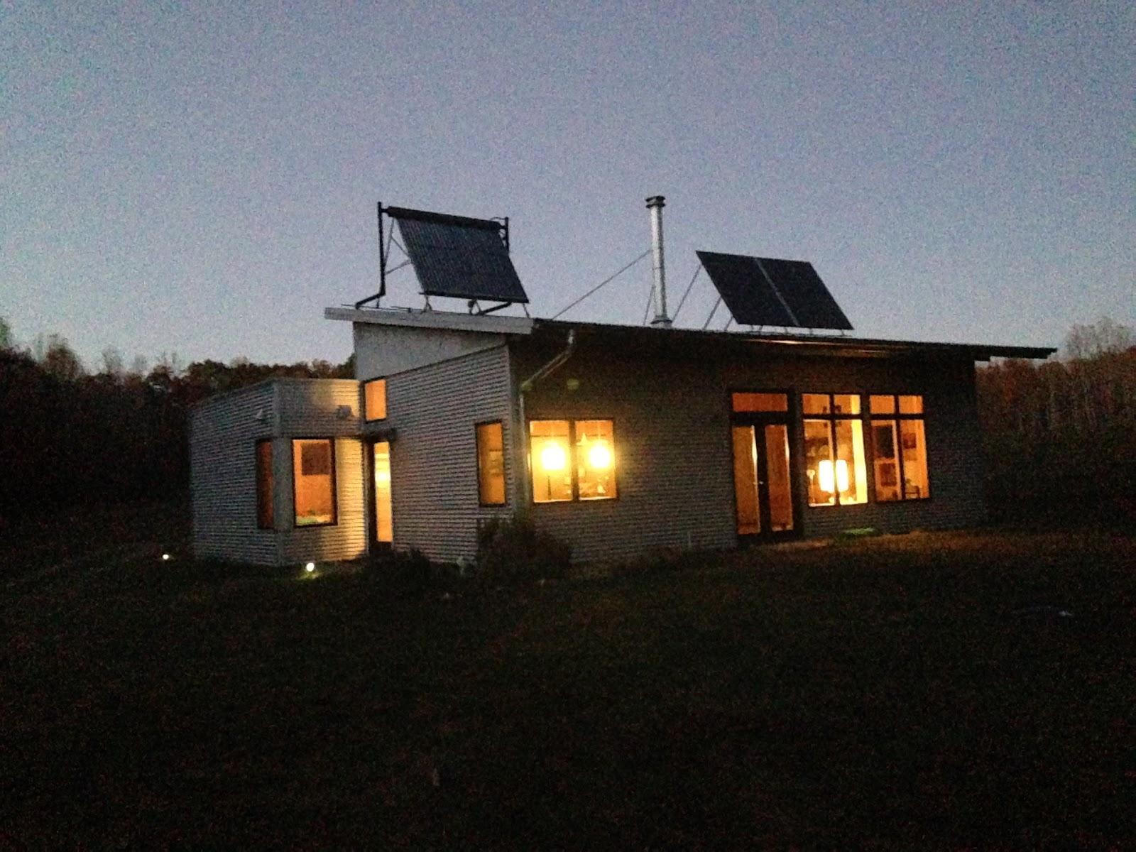 Net zero passive solar prefab turns on the heat for Passive solar prefab homes