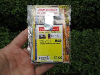 baterai Nokia BP-5L 9500 valentine