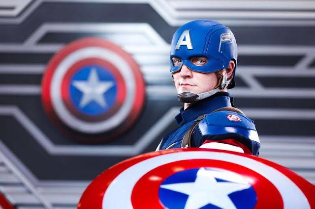 放玩奇妙當夏香港迪士尼樂園度假區香港居民樂園門票優惠Hong Kong Disneyland Resort Summer Chill-Captain America Re-imagined Meet and Greets