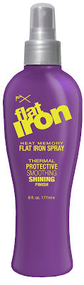 FX heat memory flat iron spray review
