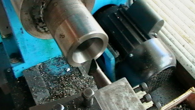 cutting 10º bore for 5-C collet