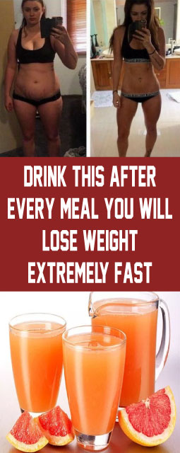 Drink this after every meal You will lose weight extremely fast