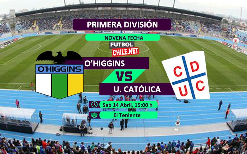 O´Higgins vs Universidad Católica: Previa, horario, dónde ver en vivo por TV y online por la Primera División