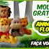 MOLDES DE ANIMAIS DA FLORESTA