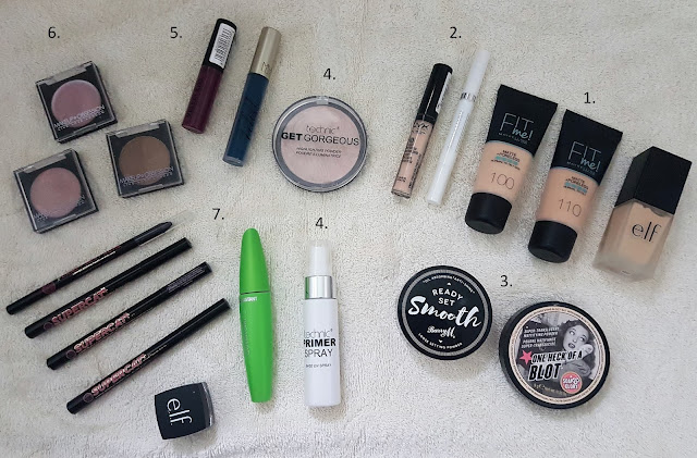 Makeup I'm Getting Rid Of