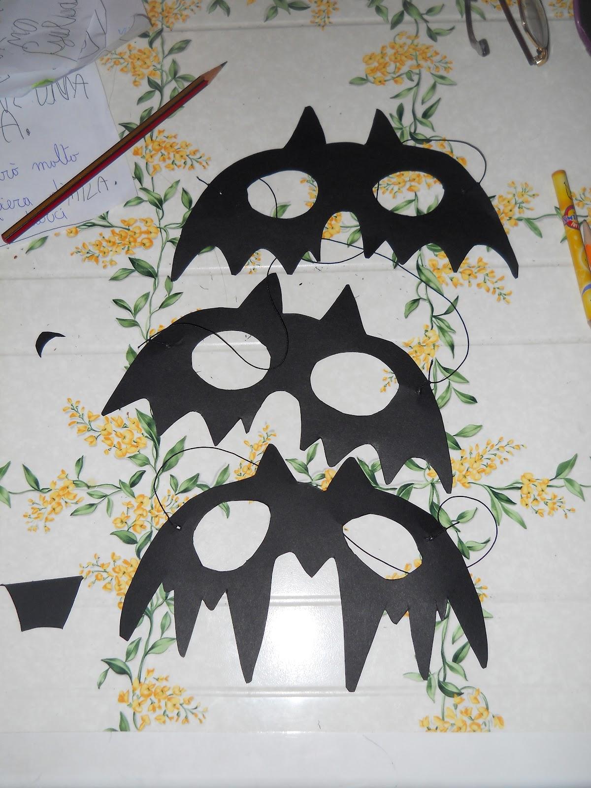 Ricette bricolage la maschera da pipistrello fai da te for Fai da te bricolage