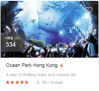 Klook Promo Code 2016-2017, Ocean Park Hong Kong Ticket