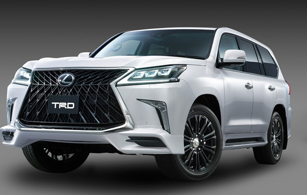 2017 Lexus Lx 350 >> Lexus LX 570 Looking Sporty In Japan With TRD Parts