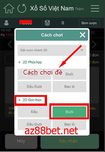 hướng dẫn chơi xổ số online