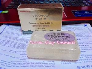 Sabun Deoonard Gold Silver