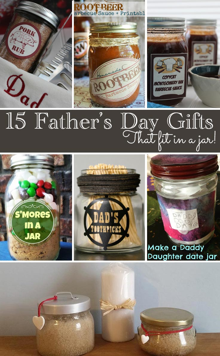 Crafts With Jars Father S Day Gifts In A Jar
