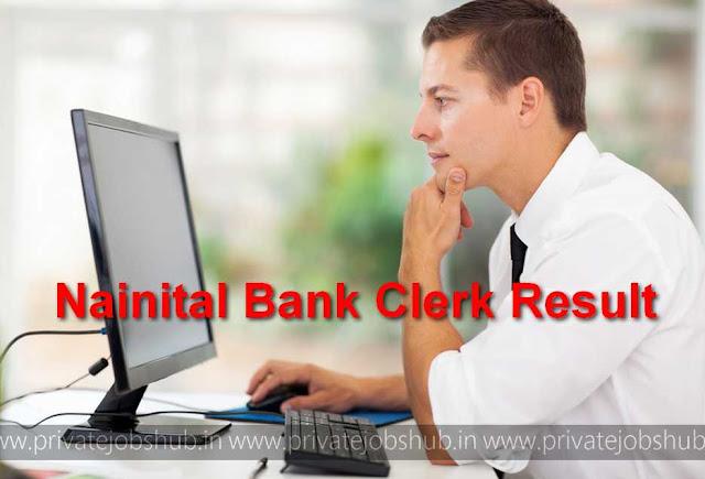 Nainital Bank Clerk Result