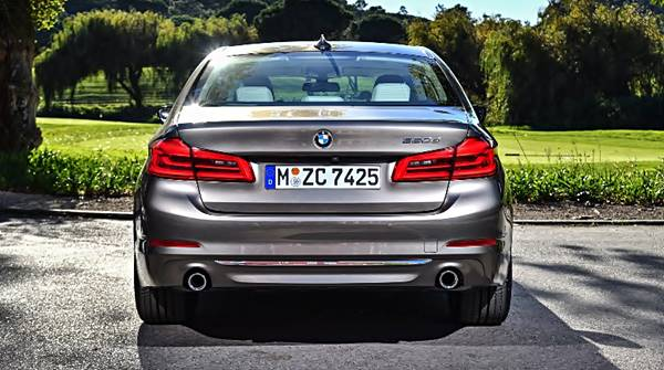 2017 BMW 520d Review