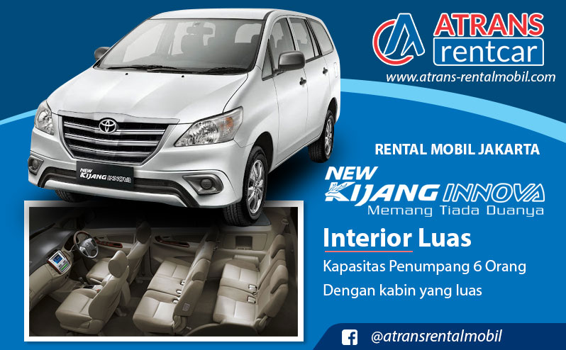 Rental mobil Jakarta Harga Rental Mobil Kijang Innova Type G Jakarta