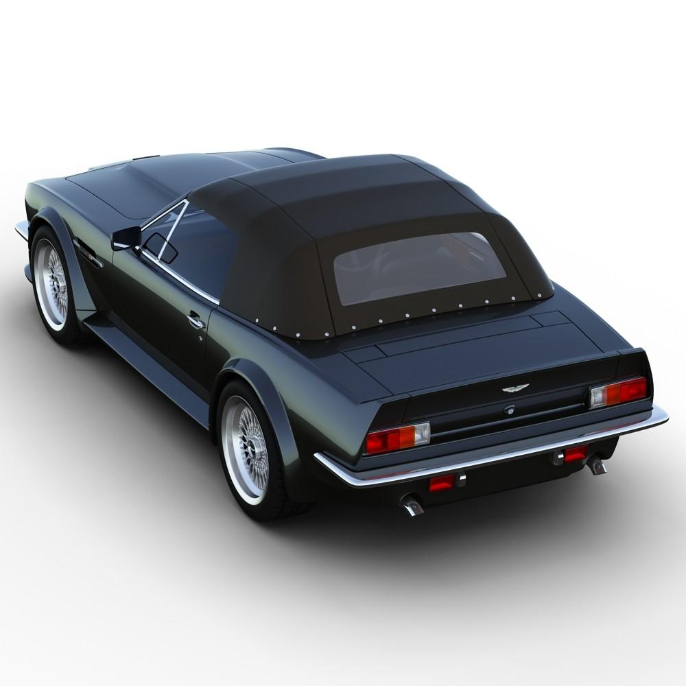 3D.ART.Reactor: 3D Model Aston Martin V8 Vantage Volante