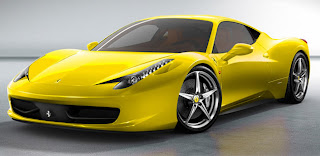 Price Of New Yellow Ferrari Car 458 Italia