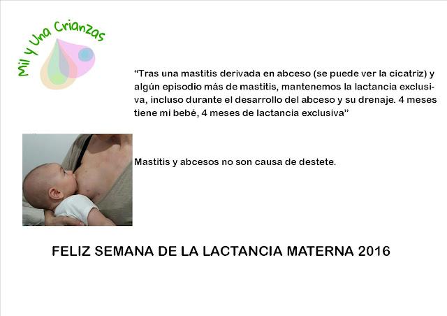 Semana de la Lactancia Materna 3ª parte