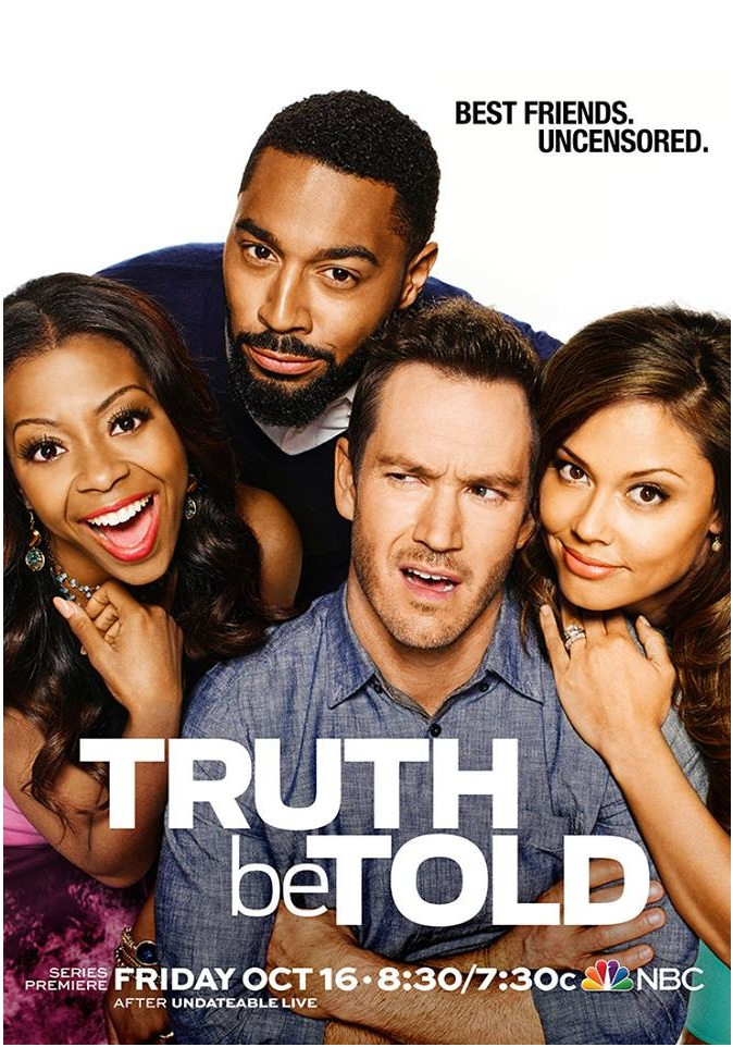 TOP HOLLYWOOD NEWS: 'TRUTH BE TOLD' CAST PHOTOS WITH MARK