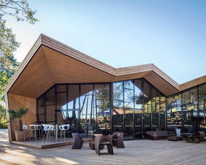 Nhà hàng kết cấu thép với phong cách độc đáo, mới lạ