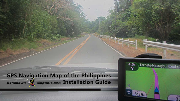 Garmin GPS Navigation Map of the Philippines - Schadow1 Expeditions