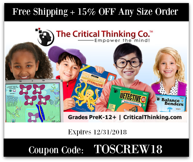 Eccentric eclectic woman june 2018 read other homeschool curriculum reviews for the critical thinking co fandeluxe Gallery
